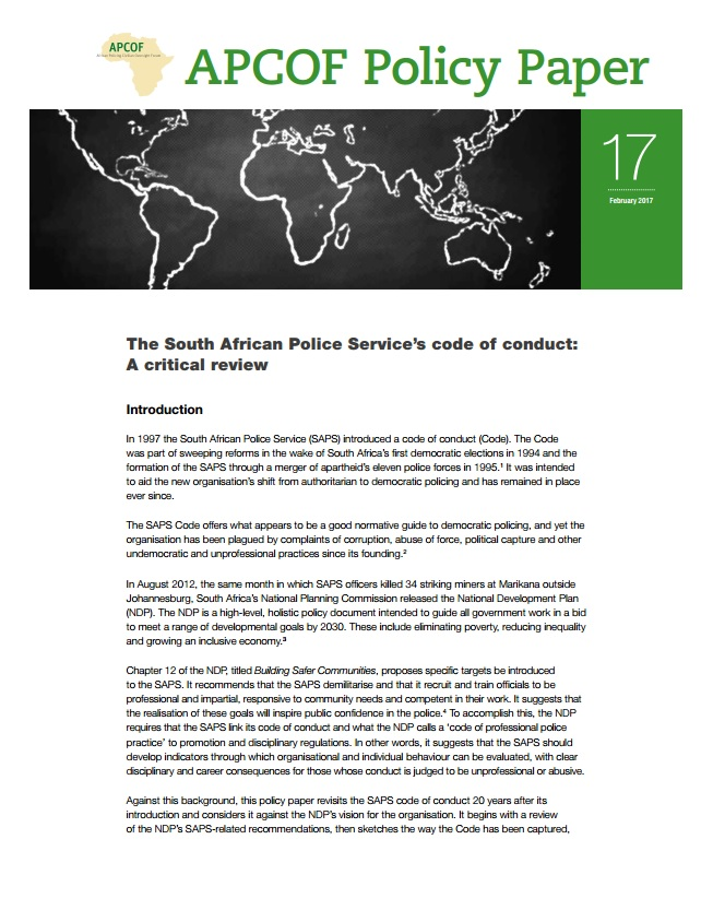 017–the-south-african-police-services-code-of-conduct-a-critical-review